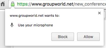 Groupworld audio/video troubleshooting